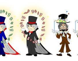 Nro 22 kilpailuun Draw Two Professors: the Magician and the Mad Hatter käyttäjältä Aenath