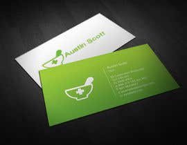 #104 untuk Personal Business Card Design for Retail Pharmacist oleh aries000