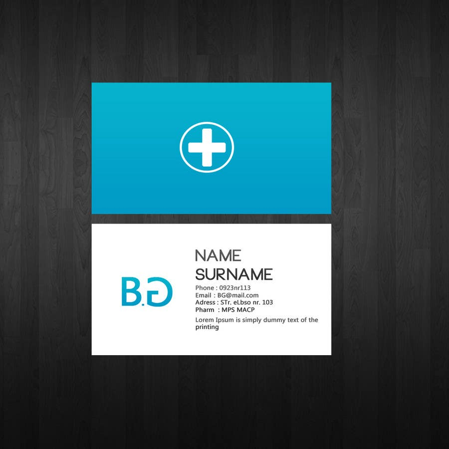 Entry #124 by Smartdotsteam for Personal Business Card Design for ...