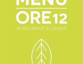 """#17 untuk Disegnare un MENU per il mio ristorante """"Ore12"""" oleh Arsylart"""