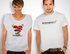 #45 para Design a T-Shirt for Contagious Luv!!! por TizarBerandalan
