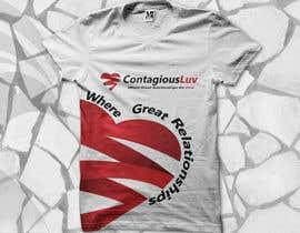 #75 para Design a T-Shirt for Contagious Luv!!! por mjbheda