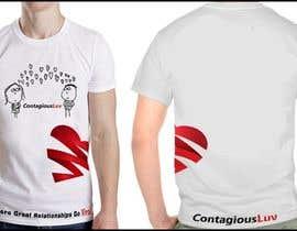 #97 para Design a T-Shirt for Contagious Luv!!! por Sutanukajashu