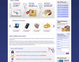 #24 para Website Design for American Buy Back! Buying Electronics Antiques Gold and valuables Online w/Cash por brnbhttchry