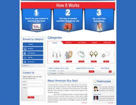 #74 для Website Design for American Buy Back! Buying Electronics Antiques Gold and valuables Online w/Cash от anjaliarun09