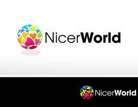 #190 per Logo Design for Nicer World web site/ mobile app da pinky