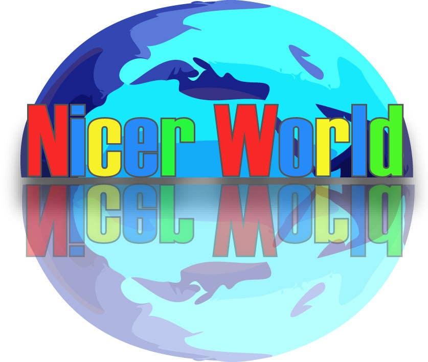 Konkurrenceindlæg #                                        70                                      for                                         Logo Design for Nicer World web site/ mobile app