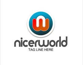 #117 para Logo Design for Nicer World web site/ mobile app por colourz
