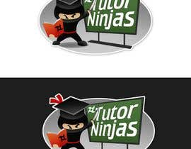 #132 para Logo Design for Tutor Ninjas de pinky