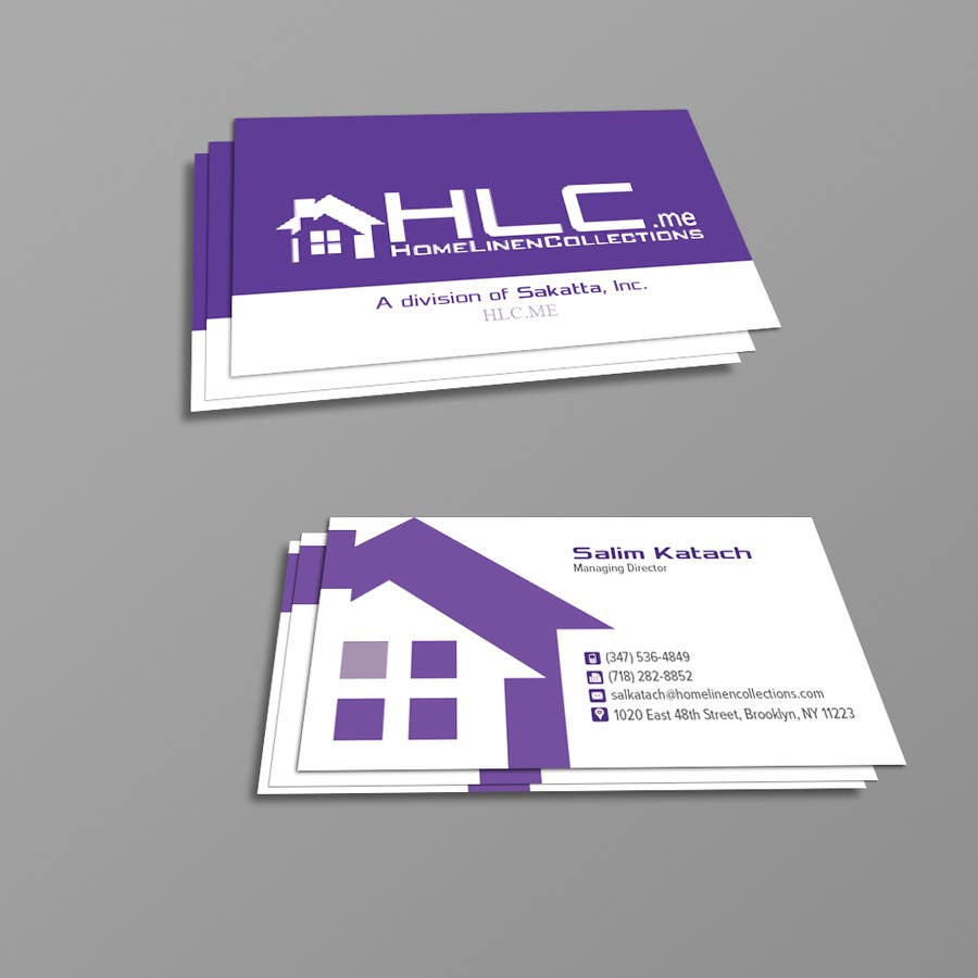 Entry 20 by kousik851 for design some business cards for co owner business card colourmoves