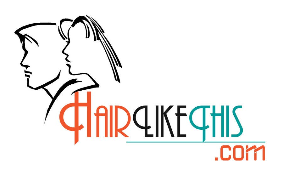 Contest Entry #56 for Logo Design for HairLikeThis.com
