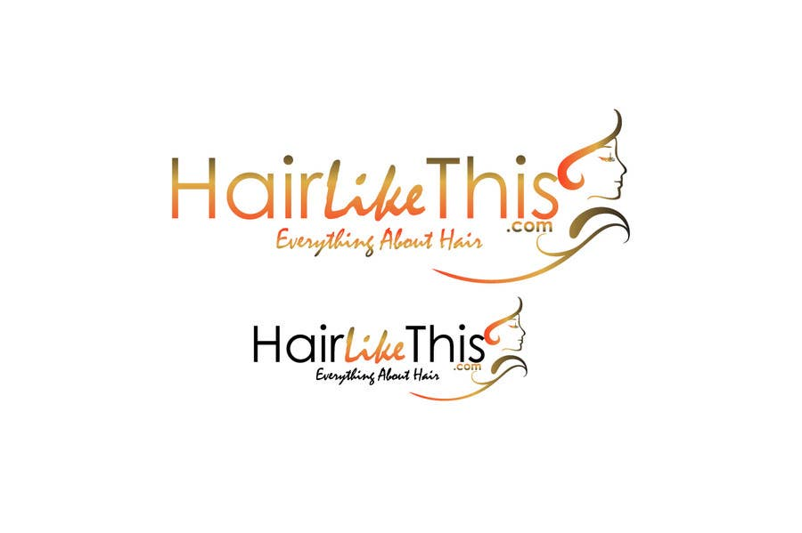 Contest Entry #129 for Logo Design for HairLikeThis.com