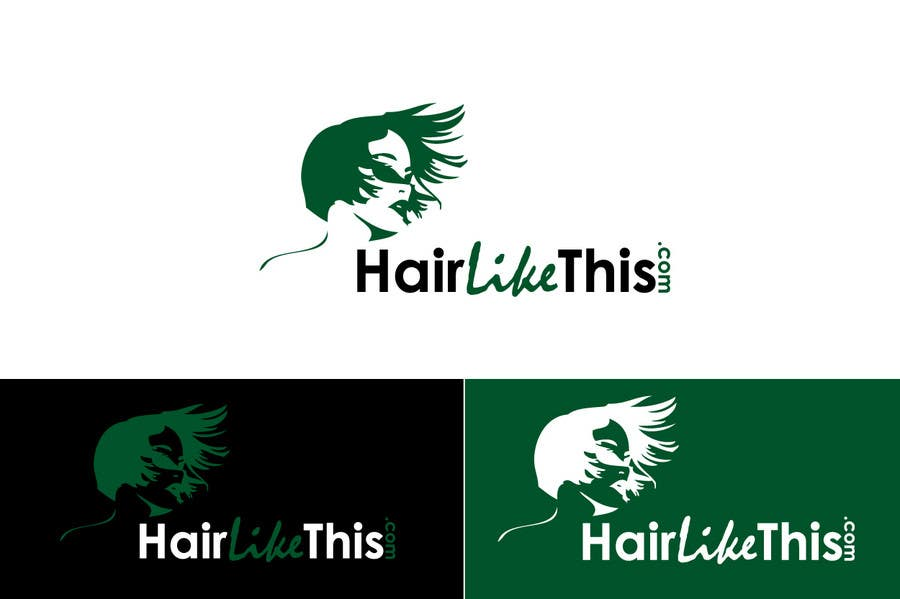 Proposition n°                                        84                                      du concours                                         Logo Design for HairLikeThis.com