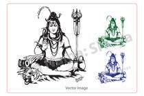 Graphic Design Konkurrenceindlæg #40 for Sketches of deities for a new book to be published on Hinduism