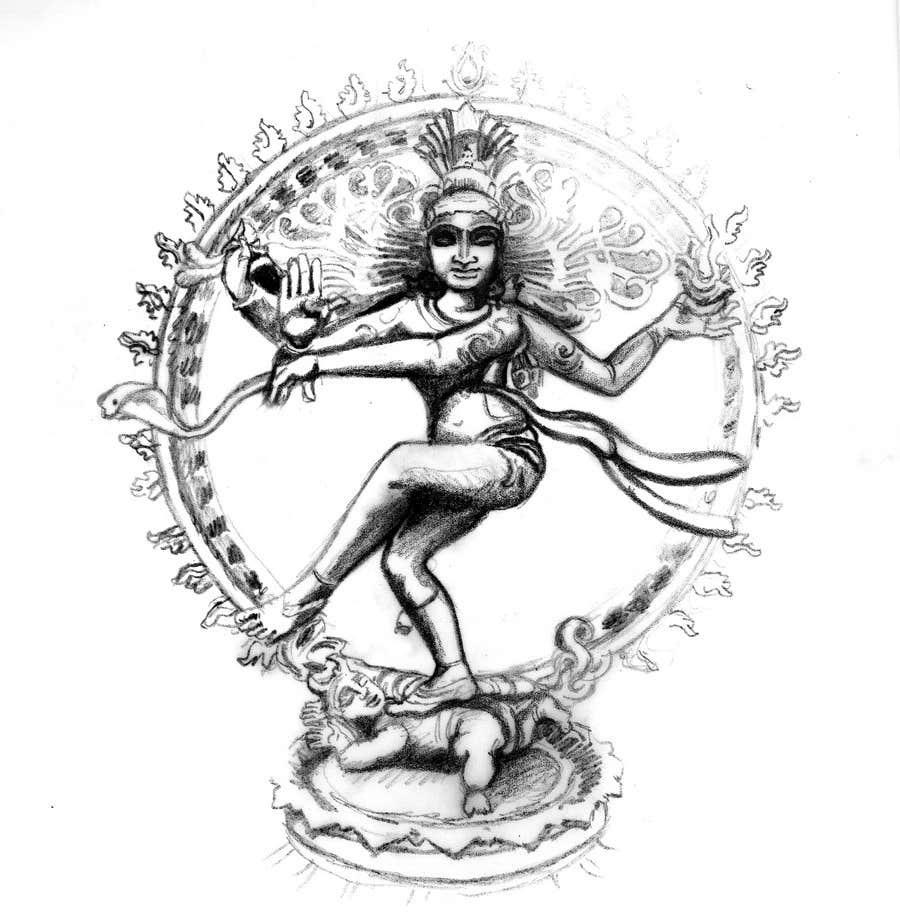 Inscrição nº                                         11                                      do Concurso para                                         Sketches of deities for a new book to be published on Hinduism