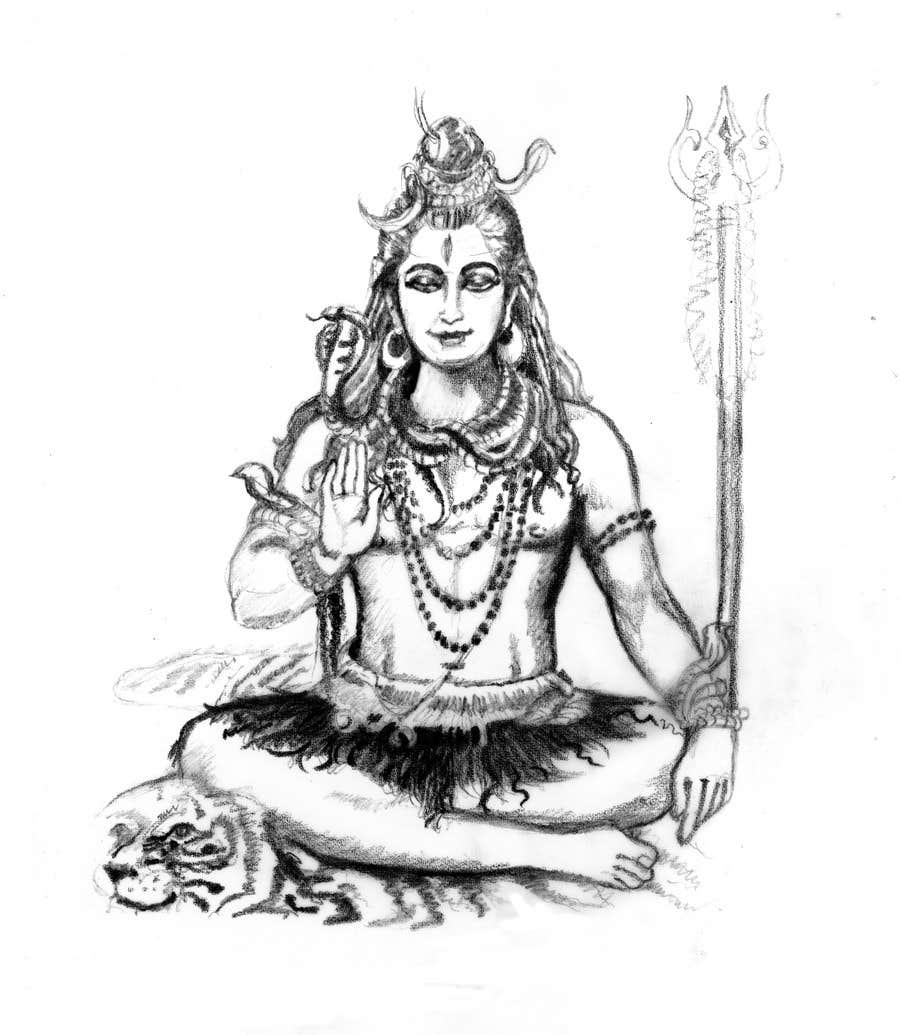 Inscrição nº                                         15                                      do Concurso para                                         Sketches of deities for a new book to be published on Hinduism