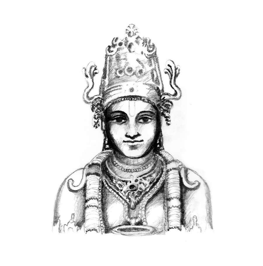 Inscrição nº                                         13                                      do Concurso para                                         Sketches of deities for a new book to be published on Hinduism