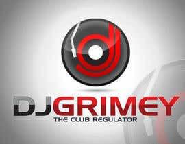 "#171 para Logo Design for Dj Grimey ""The Club Regulator""! por ulogo"