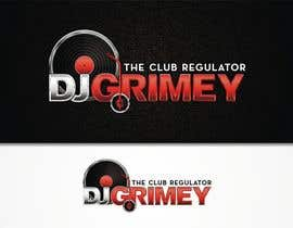 "#116 para Logo Design for Dj Grimey ""The Club Regulator""! por flov"