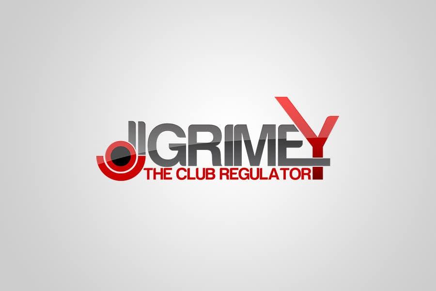 """Inscrição nº 150 do Concurso para Logo Design for Dj Grimey """"The Club Regulator""""!"""
