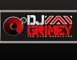 "#146 para Logo Design for Dj Grimey ""The Club Regulator""! por xcerlow"