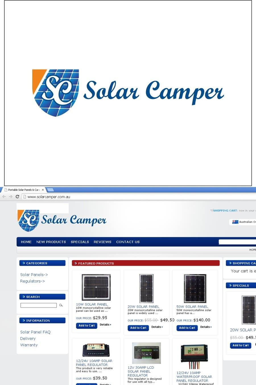 Inscrição nº                                         82                                      do Concurso para                                         Design a Logo for Solar Camper