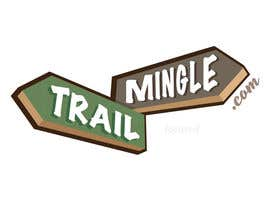 #22 para Trail Mingle Logo Design Contest por focused