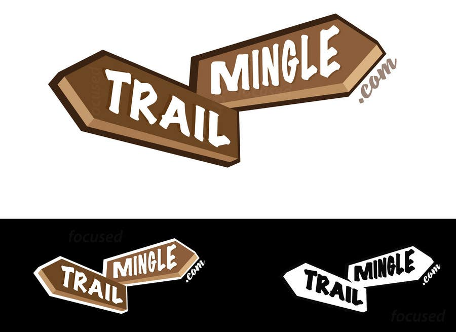 #21 for Trail Mingle Logo Design Contest by focused
