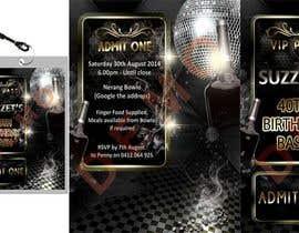 #12 cho VIP Birthday Invitation to go in Lanyard bởi maxjordan1234567