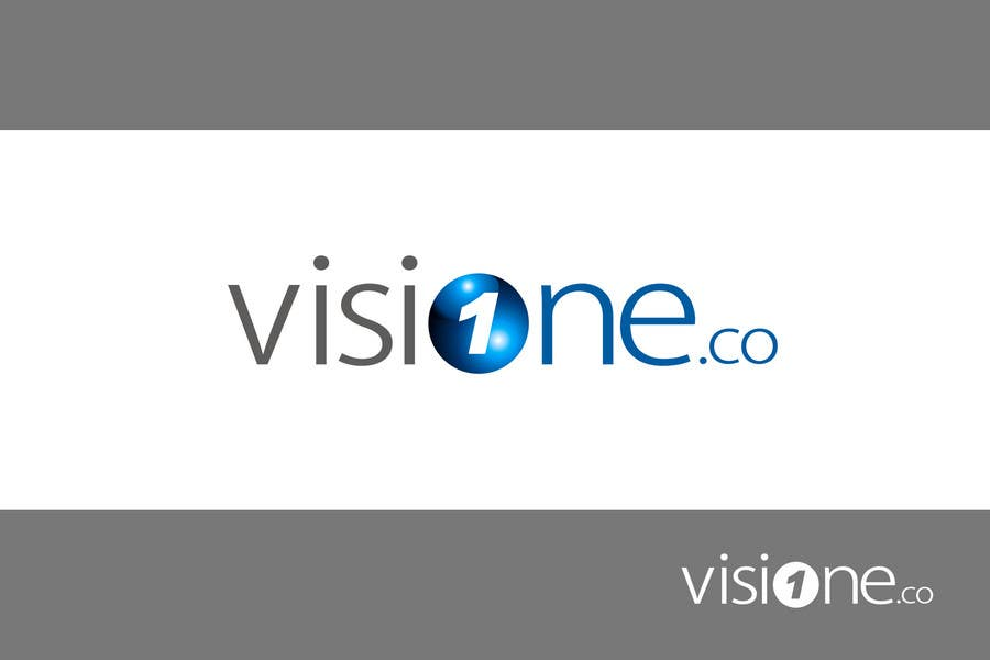 """Inscrição nº                                         47                                      do Concurso para                                         logo design for """"visione.co"""""""