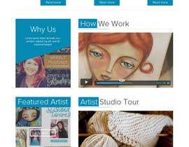 #52 para Home Page Design For www.iCreateFlix.com por mentorsh