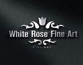 logodesigingpk tarafından Design a Logo for White Rose Fine Art için no 105