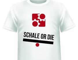 #31 untuk Design a T-Shirt for camunda / scale or die oleh IvanNedev