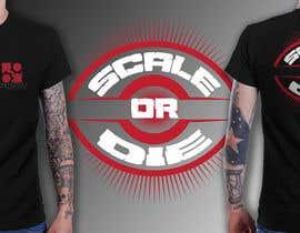 #48 untuk Design a T-Shirt for camunda / scale or die oleh richisd