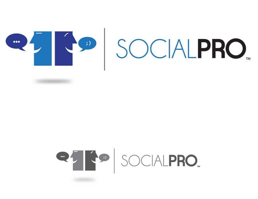 Penyertaan Peraduan #118 untuk Logo Design for SOCIALPRO