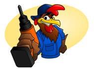 Need a Cartoon Rooster -- Cable TV Service Man Created! için Graphic Design3 No.lu Yarışma Girdisi