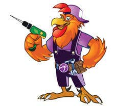 #15 for Need a Cartoon Rooster -- Cable TV Service Man Created! af agungmalang