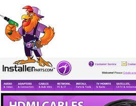 #16 for Need a Cartoon Rooster -- Cable TV Service Man Created! af agungmalang