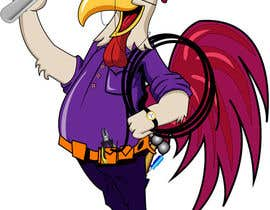 #35 para Need a Cartoon Rooster -- Cable TV Service Man Created! por datagrabbers