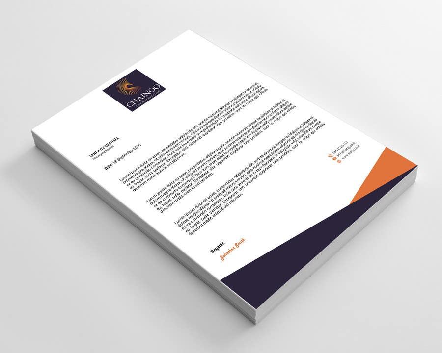Entry #17 by kushum7070 for Letterhead, business card and envelopes ...