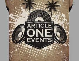 #107 for Design a Logo for 'Article One Events' af hazeemmuhammed