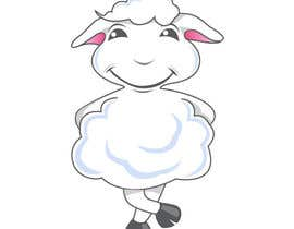 #13 untuk Mascot for Website - A Sheep oleh yourdesigns