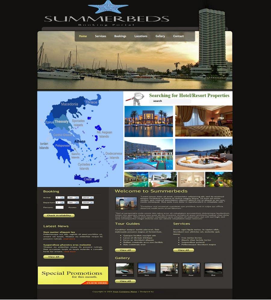 Contest Entry #84 for Website Design for SUMMERBEDS