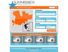 nº 76 pour Website Design for SUMMERBEDS par giannoulasv