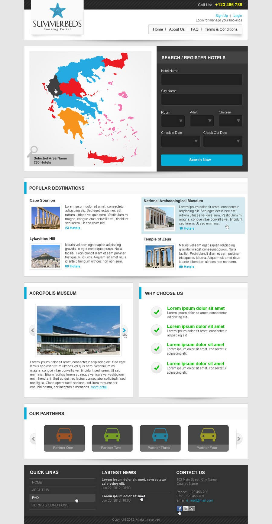 Contest Entry #14 for Website Design for SUMMERBEDS