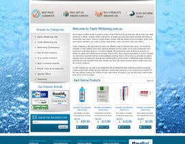 #64 pentru Website Design for Teeth Whitening Australia (Online Retailer) de către digilogsystemseu