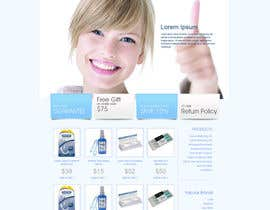 #25 para Website Design for Teeth Whitening Australia (Online Retailer) por mhizzzy