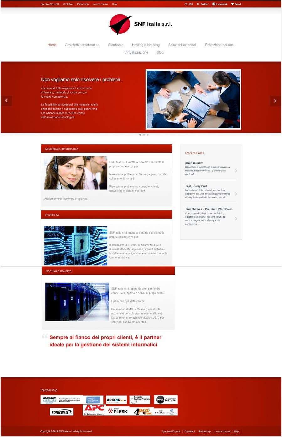 Entry #16 by Idemia for Build a Website for a ict company