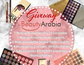 Nro 13 kilpailuun Design a give away Advertisement makeup käyttäjältä kdeluca