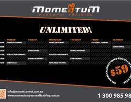 #19 for Design an eye catching timetable for my Group Personal Training Program by prem52k